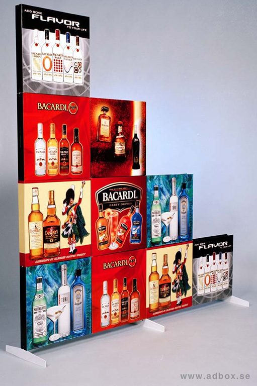 "Display ""Bacardi"""